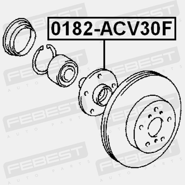 Front Wheel Hub For Lexus Es250 2012 Oem 43502 28090 4056111033839