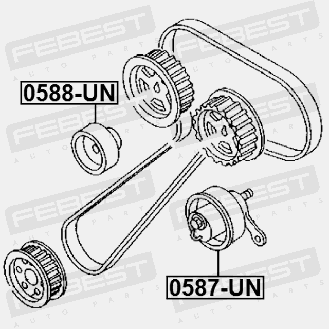 1993 Ford Ranger Pulley Diagram