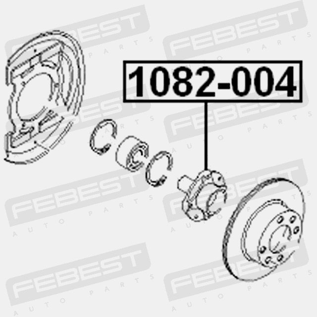 Front Wheel Hub For Daewoo Espero 1991 1999