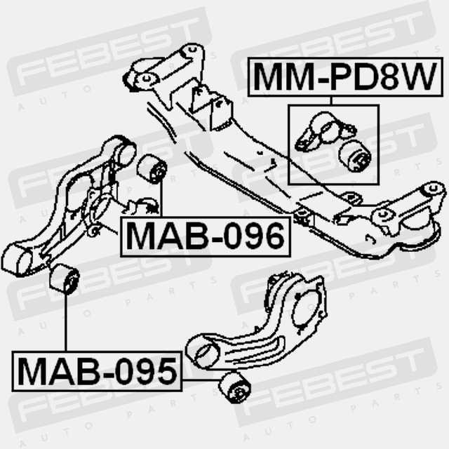 Bushing Differential Mount For Hyundai Terracan 20012007 Oem 55650h1000 Febest: Hyundai Terracan Engine Diagram At Hrqsolutions.co