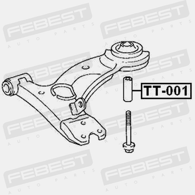 Collar For Front Suspension Lower Arm For Toyota Caldina 1992 2002