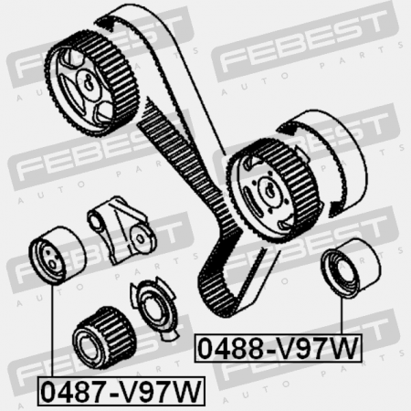 Isuzu Timing Belt Tensioner