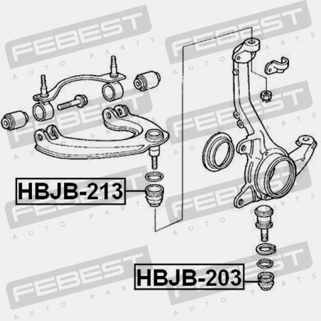Front Arm Ball Joint Boot For Honda Accord Cu# 2008-2012