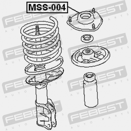 Lateral Arm Rear Lower Forward MAS LL81875 fits for 04-08 Chrysler Pacifica 2
