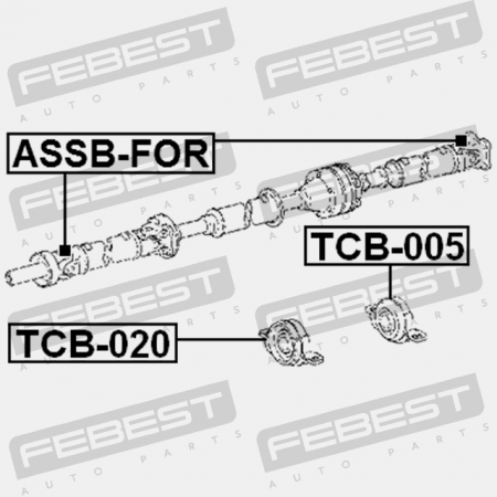Center Bearing Support Tcb 005