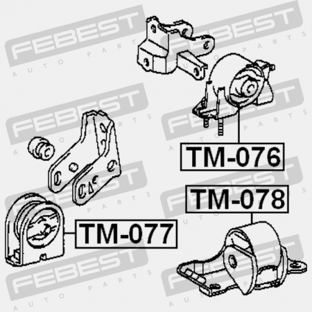 1993-1999 Rear Engine Mount For Toyota Celica St20#