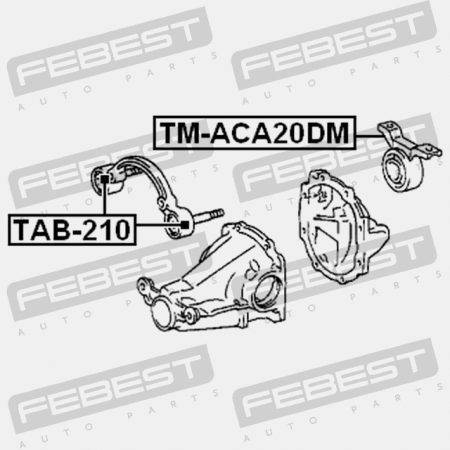 Arm Bushing Rear Assembly Tab 262 En together with Rear Differential Mount Tm Aca20dm moreover 231450181607 as well 281779156475 further 301447917979. on oem ford lincoln mercury