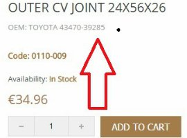 Buy car parts online: German quality, Low prices, Free shipping!